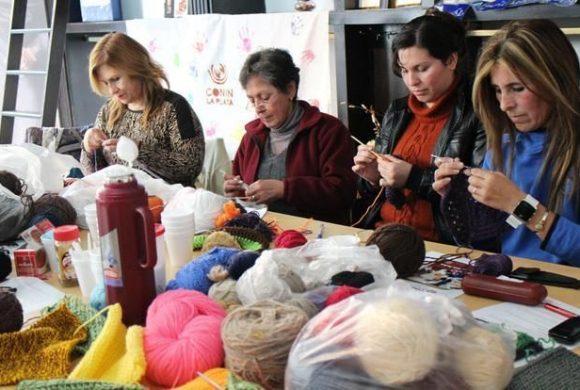 El Tejido a Crochet se toma el Mercado Central