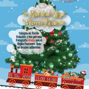 Ven a celebrar la Navidad en Barrio Estación!